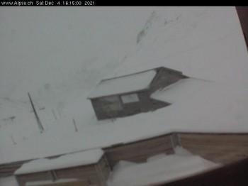 Mountain view of Sedrun Oberalp