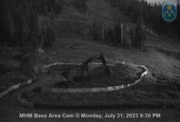 Mt Hood Meadows Ski Resort Base Area