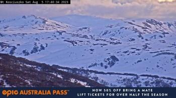 Perisher: View Mt Kosciuszko