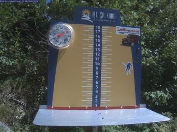 Neuschnee - Skigebiet Mt Spokane Ski Area