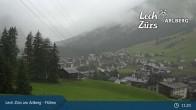 Oberlech am Arlberg: Blick vom Flühenlift
