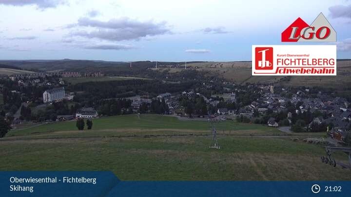 Webcam Oberwiesenthal Fichtelberg Ski Slope 990 M