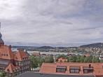 Östersund: Blick aufs Rathaus