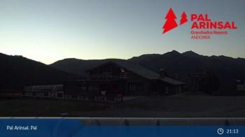 Vallnord - Pal: Blick auf Pla de la Cot (Andorra)
