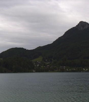 Panorama of Lake Fuschl