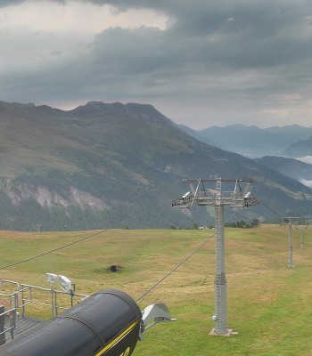 Panorama ski resort Schöneben