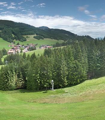 Panorama Skigebiet Jungholz