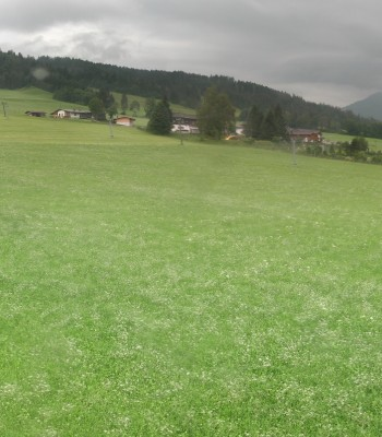 Panorama Talstation Skigebiet Pillersee