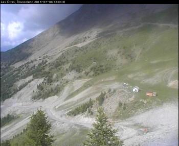 Panoramaansicht auf Bussolenc im Skigebiet Les Orres