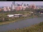 Panoramablick auf die Skyline von Edmonton