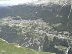 Panoramablick Grächen