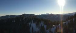 Panoramablick Grünten