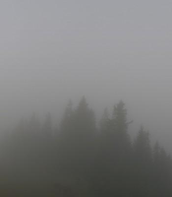 Panoramablick Skigebiet Grasgehren