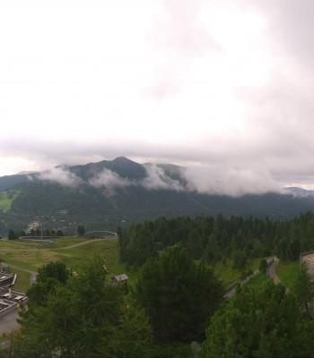 Panoramablick Turracher Höhe: Panoramabahn und Nocky Flitzer
