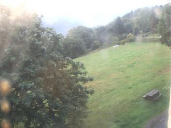 Panoramablick von Frauenwald am Rennsteig im Thüringer Wald