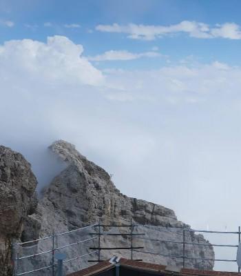 Panoramablick Zugspitze
