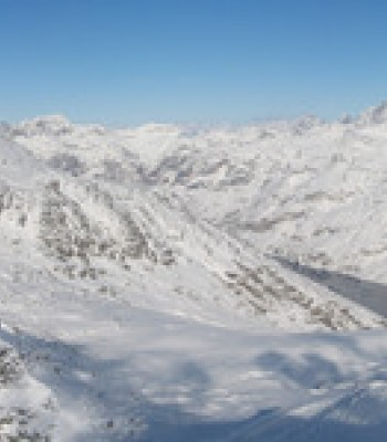 Panoramic View of Valchiavenna Madesimo