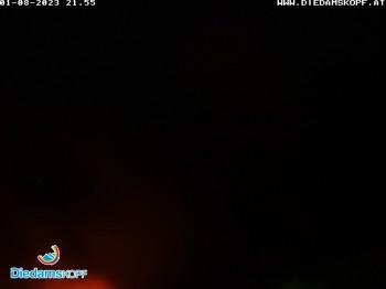 Ski resort Diedamskopf - View Breitenalpe