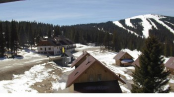 "View Huts of ski resort ""Weinebene"""