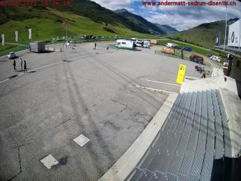Parking area Gemsstock Ropeway Andermatt