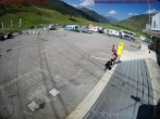 Parking area Gemsstock Ropeway Andermatt