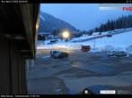 parking lot ski resort