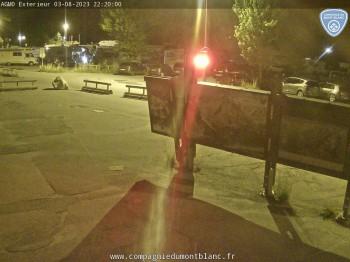 Parkplatz Les Grands Montets