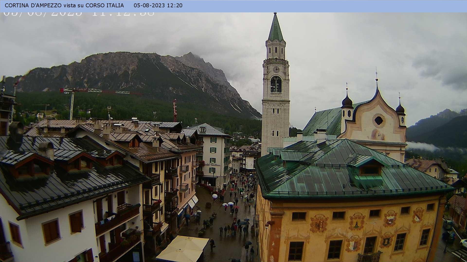 Webcam Pedestrian Zone Corso Italia 1198 M Belluno