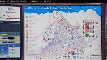 Pelvoux Vallouise - Talstation