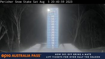 Perisher: Neuschnee Snow Stake