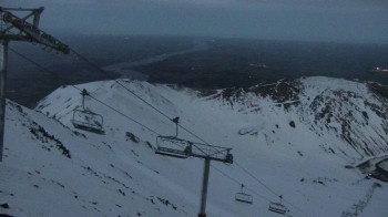 Pisten am Kamm Virgin Mile, Skigebiet Mt. Hutt