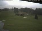 Blick auf die Talabfahrt der Skilifte Bumbach - Schnagnau