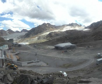 Pitztaler Gletscher: Bergstation Gletscherexpress