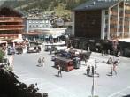 Railway station at Zermatt