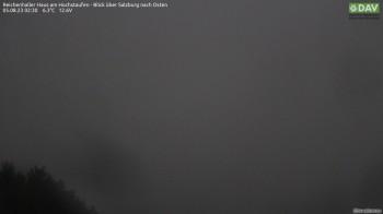 Reichenhaller Haus am Hochstaufen - Blick östlich nach Salzburg