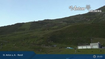 St. Anton: Rendl Mountain Restaurant