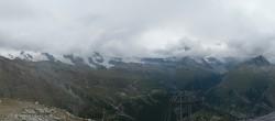 Rothorn Zermatt with Monte Rosa
