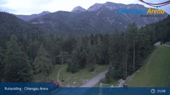 Ruhpolding - Livestream of Chiemgau Arena
