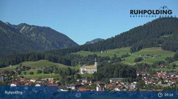 Ruhpolding: Panoramic View