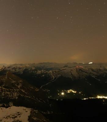 Säntis (2502 m) in der Ostschweiz
