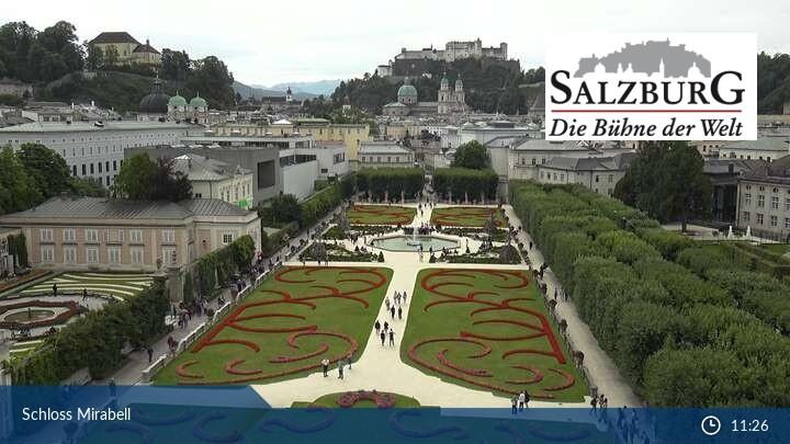 Webcam Salzburg Castle Hohensalzburg 426 M Saastal
