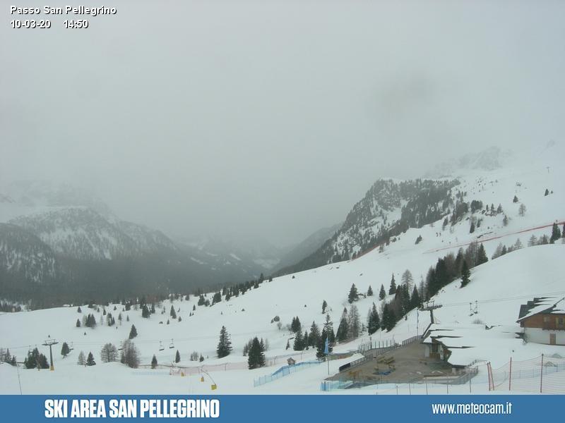 San Pellegrino Pass - Überblick