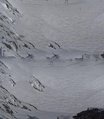 Stubaier Gletscher: Schaufeljochbahn
