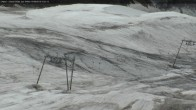 Blick vom Gipfel des Les 2 Alpes Gletscher Richtung Süden