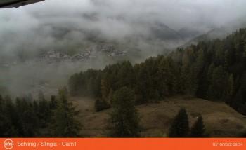 Schlinig in Valley Schlinig, South Tyrol