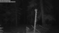 Schneemessstation im Skigebiet Cooper Hill