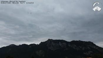 Schwangau: View Tegelberg mountain