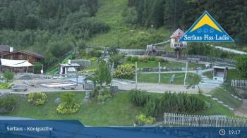 Serfaus: Blick Königsleithe