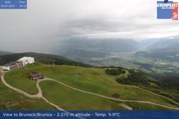 Sicht auf Bruneck