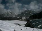Sicht vom Angererhof auf das Hochschwabmassiv (Tragöß, Steiermark)